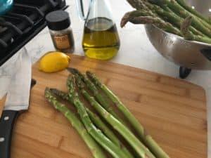 asparagus-lemon-olive oil-papa joe's