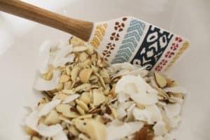 nuts and coconut pineapple macadamia nut granola